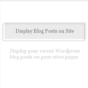 Display Blog Posts on Site-
