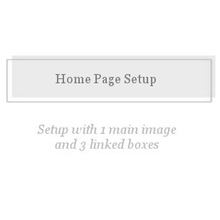 Home Page Setup-