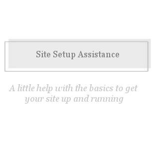 Basic Site Setup-