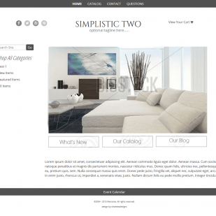 Simplistic Two - Responsive-masculine, dark brown, clean,  elegant, classy,