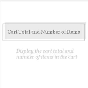 Display Cart Total-QTY-Display Cart Total-QTY