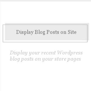 Display Blog Posts on Site-