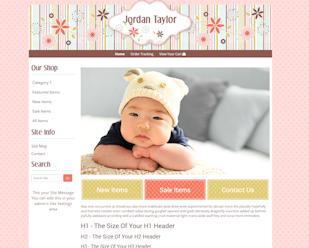 Jordan Taylor - Responsive-Mobile Responsive Boutique Website Template-Jordan Taylor