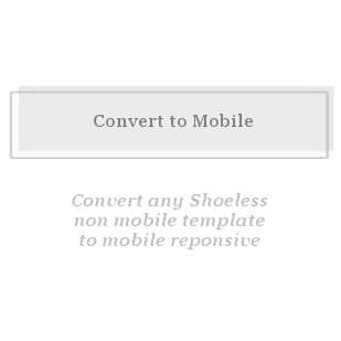 Conversion to Mobile Responsive-convert to mobile responsive
